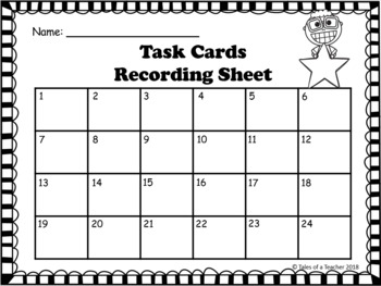 BUNDLE: 4th Grade STAAR Reading Vocabulary Task Cards ~ Sets 1-3