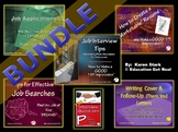 BUNDLE - 6 CAREER/JOBS POWERPOINTS + Interview Questions ""