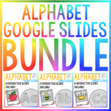 BUNDLE - Alphabet Digital Learning Google Resource