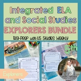 BUNDLE Age of Exploration; Integrated ELA FSA Practice with S.S. SAVE 25%