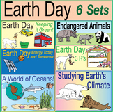 25% Off BUNDLE: 6 Earth Day Puzzle Sets – Lively Activitie