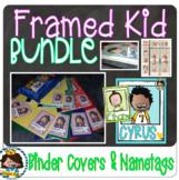 BUNDLE- 68 (+2 bonus kids w/bund) Framed Melonheadz Studen