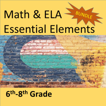 6th-8th Grade ELA & Math Essential Elements for Cognitive
