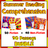 Summer Reading Passages, Summer Passages, Fun Summer Reading, Funny Passages