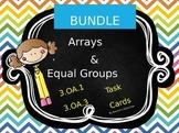 BUNDLE 96 TASK CARDS Multiplication and Division