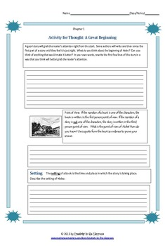 BUNDLE: A  Long Way from Chicago Novel Unit Plus Grammar AND Graphic Organizers