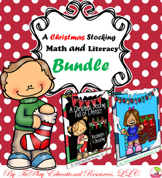 BUNDLE: A Stocking Full of Literacy and Math Worksheets