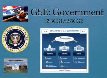 BUNDLE ALERT! 3rd GSE Social Studies Google Classroom IWB