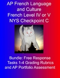 BUNDLE:  AP French Language and Culture Free Response Task