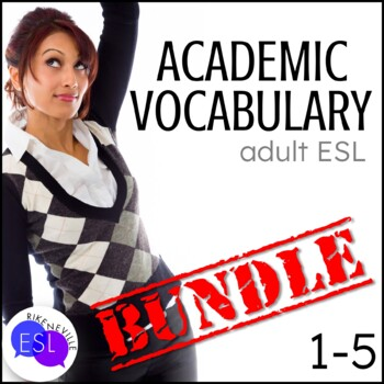 Academic Vocabulary BUNDLE 1 with Activities and Worksheets