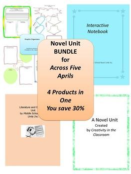 BUNDLE: Across Five Aprils 4 Products in 1
