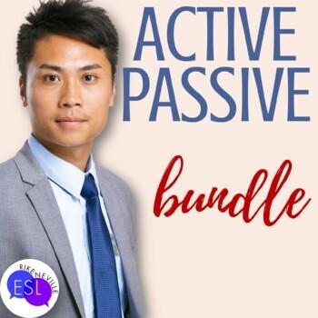 Active Voice vs. Passive Voice:  BUNDLE