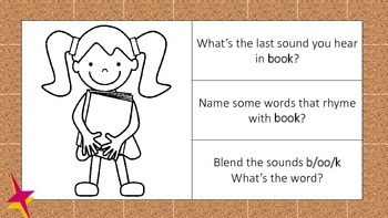 BUNDLE Activity Cards to Support Phonological Awareness for K/1st Grade
