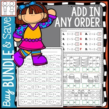 BUNDLE: Add in Any Order Activities