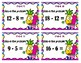BUNDLE Addition Bears and Subtraction Pineapple Buds Scoot - Numbers to 20