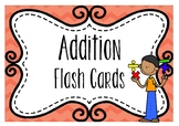 BUNDLE Addition Flash Cards - Near Doubles, Doubles and Te