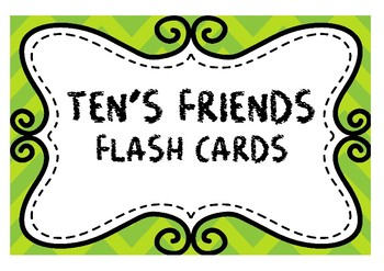 BUNDLE- Addition Flash Cards *Numbers Only*