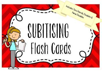 BUNDLE - Addition Flash Cards *SUBITISING*