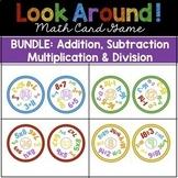 Math Games BUNDLE: Addition, Subtraction, Multiplication,
