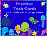 BUNDLE Addition, Subtraction, and Fractions Task Cards