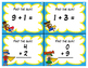 Super Hero Addition and Subtraction in 10  Task Cards - BUNDLE