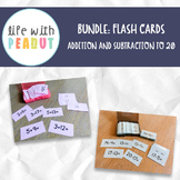BUNDLE: Addition and Subtraction Flashcards to 20