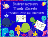 BUNDLE Addition and Subtraction Task Cards for Students wi