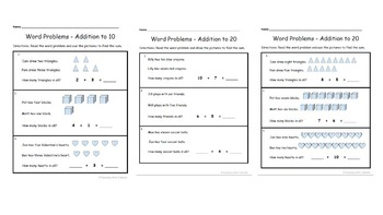 Bundle!  Adding and Subtracting Word Problems