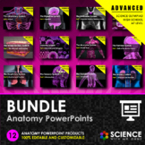 BUNDLE - Anatomy PPTs - Advanced Series HS-LS1