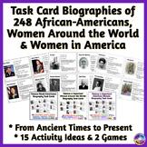 BUNDLE: African-Americans, Women Around the World, America