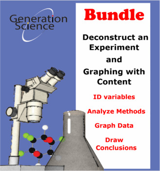 BUNDLE - All Deconstruct an Experiment & Graphing with Content - 15% discount!