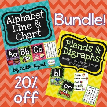 BUNDLE - Alphabet, Blends, & Digraphs