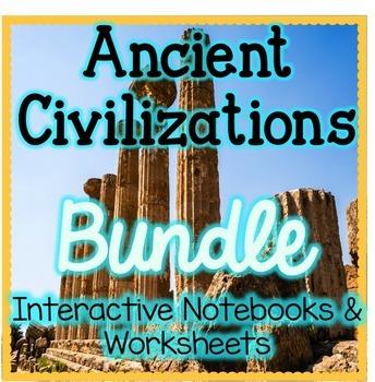 BUNDLE - Ancient China, Egypt, Greece, & Rome Interactive
