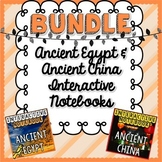 BUNDLE Ancient China & Egypt Interactive Notebooks