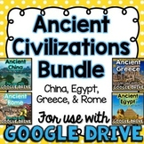 BUNDLE Ancient Civilizations for Google Drive & Google Classroom