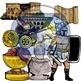 BUNDLE: Ancient Rome Citizens & Objects (28 BW & Color)