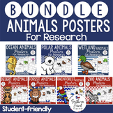 BUNDLE Animal Project Posters