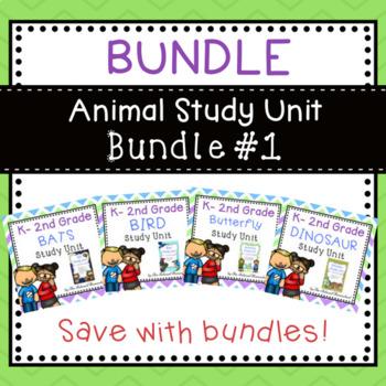 BUNDLE - Animal Study Unit Bundle #1