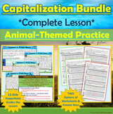 BUNDLE: Animal-Themed Capitalization Interactive Practice