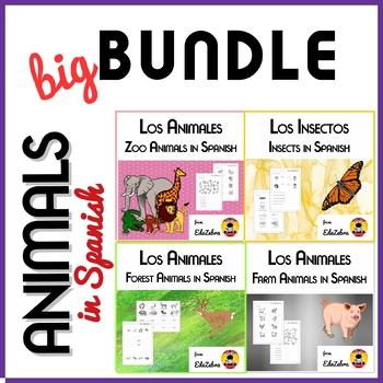 Animals in Spanish - BUNDLE - Los Animales