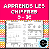 Apprends les chiffres 0 à 30 | French Number Practice 0 to