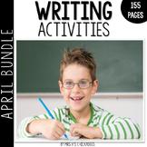 Writing Activities and Centers: April Bundle
