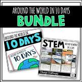 BUNDLE Around the World in 10 Days {STEM & Target Book}