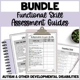 BUNDLE Assessment Guides for Functional Skills