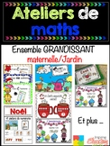 BUNDLE Ateliers de maths - ENSEMBLE économique grandissant