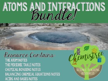 BUNDLE! Atoms and Interactions