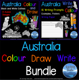 Australia Colour Draw Write BUNDLE
