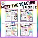BUNDLE!! Back to School Meet the Teacher Templates - 24 Options! - Editable!