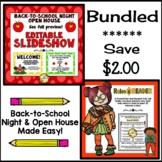 BUNDLE: Back-to-School / Open House Essentials (PowerPoints)