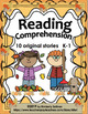 BUNDLE  Reading Comprehension passages and questions Math Word Problems Grade 1